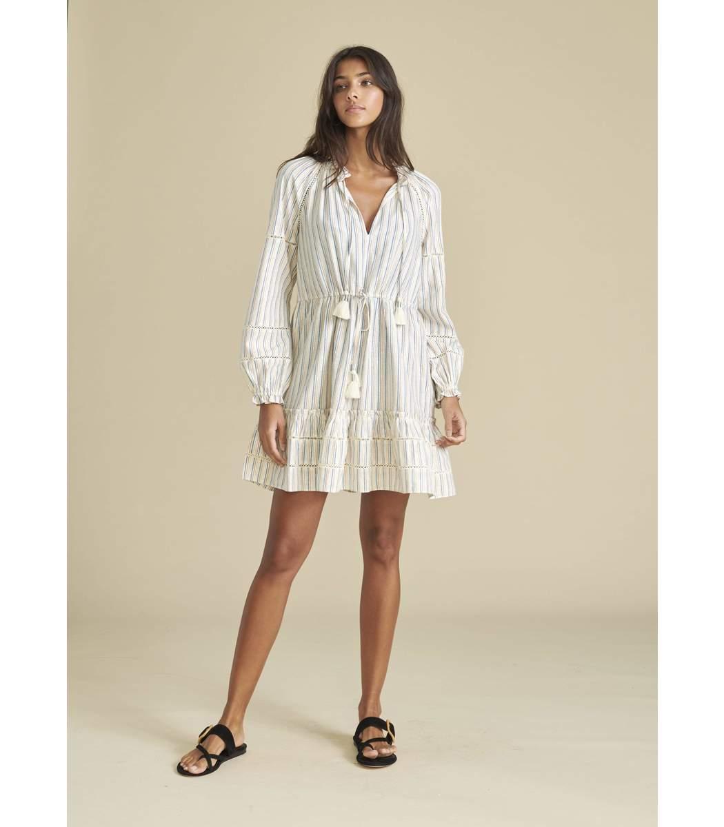 VERONICA BEARD Mini dresses Danica Floral Cover-Up Dress