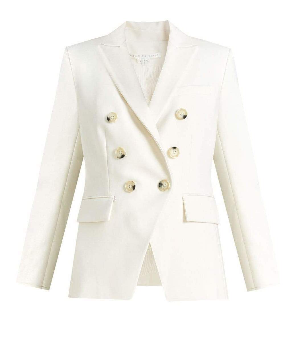 Veronica Beard Porcelain Miller Dickey Jacket
