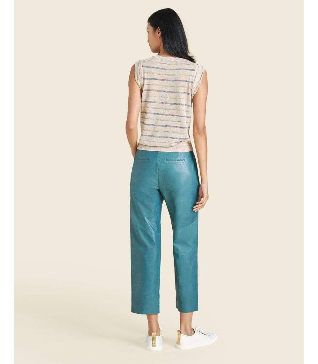 VERONICA BEARD Pants Enrica Leather Pant