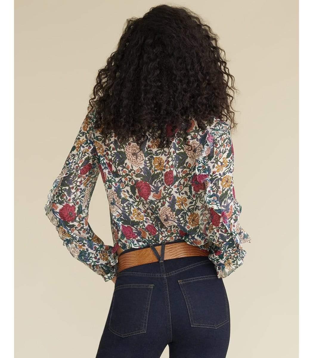 VERONICA BEARD Blouses Abra Floral Blouse