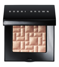 highlighting powder afternoon glow