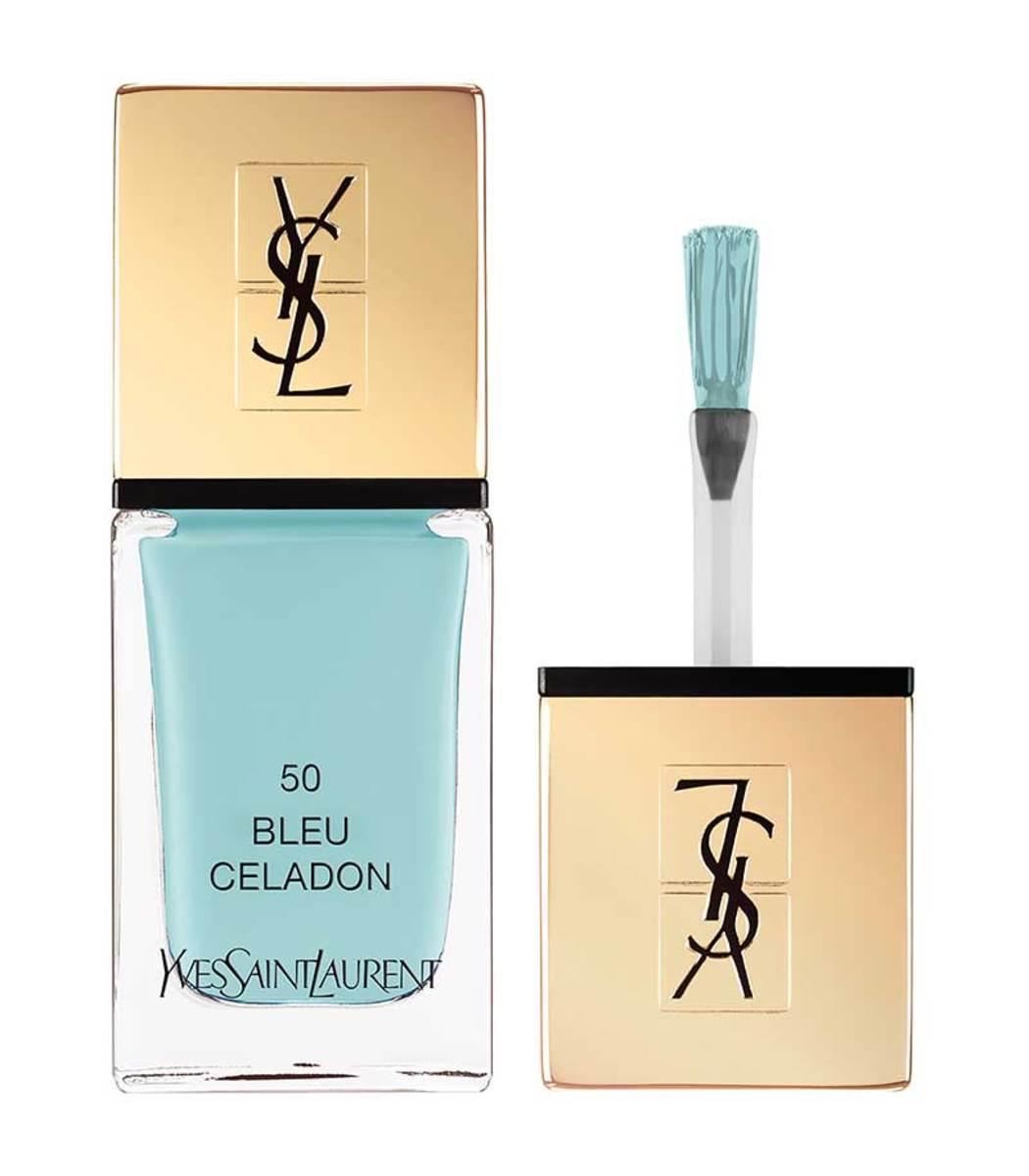SAINT LAURENT La Laque Couture  50 Bleu Celadon