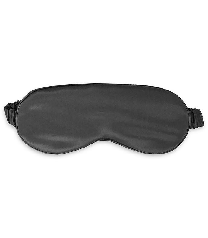 charcoal silk sleep mask