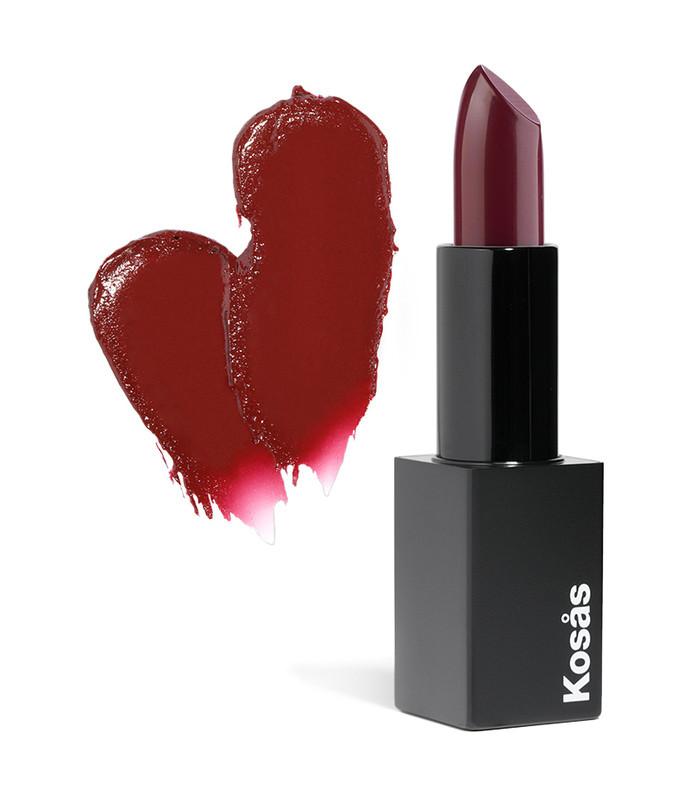 kosas weightless lipstick- darkroom