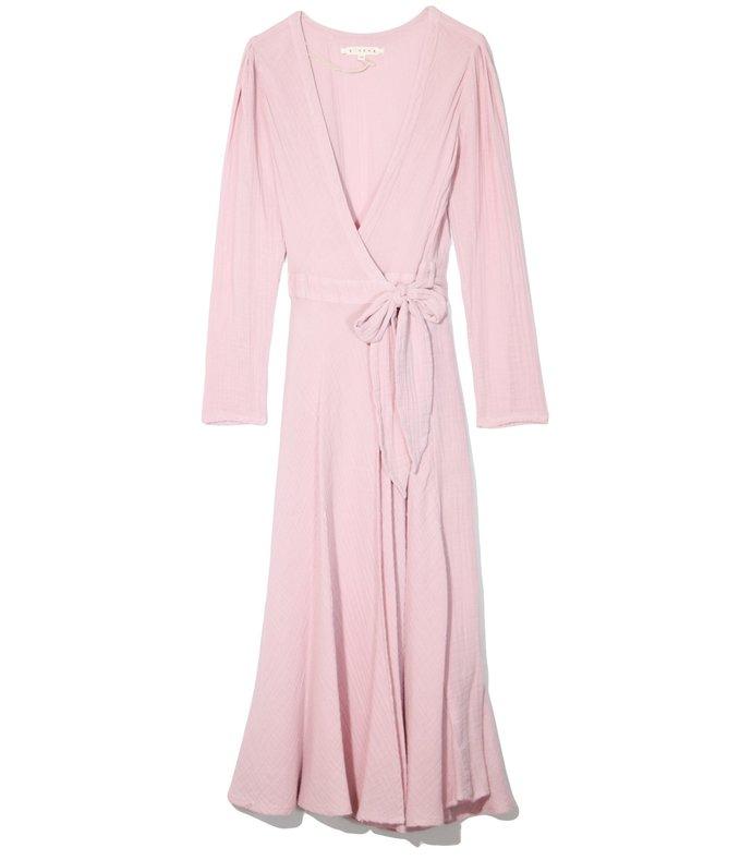 reece dress in pink dawn