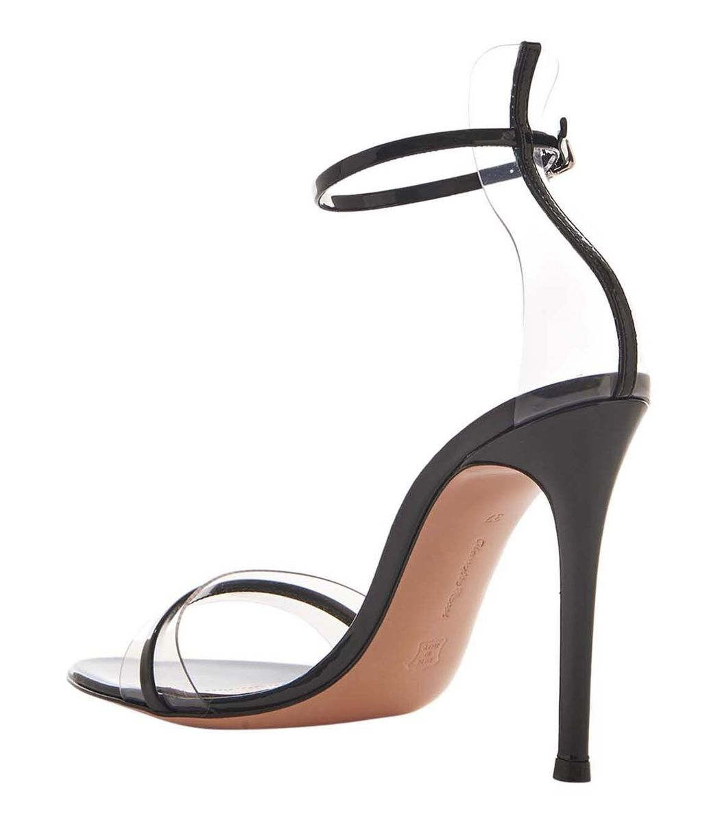 5adcb0381 Gianvito Rossi G String 105 Sandals - Black Patent Leather Sandals