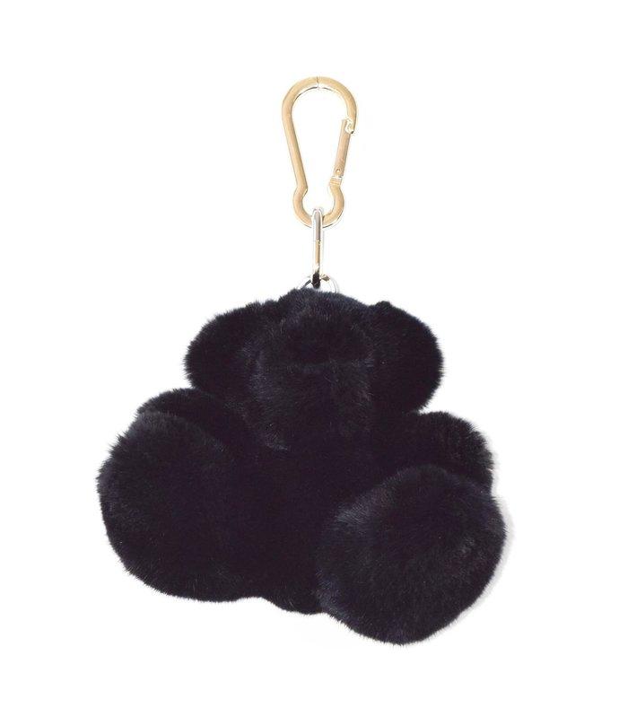rabbit keyholder in black