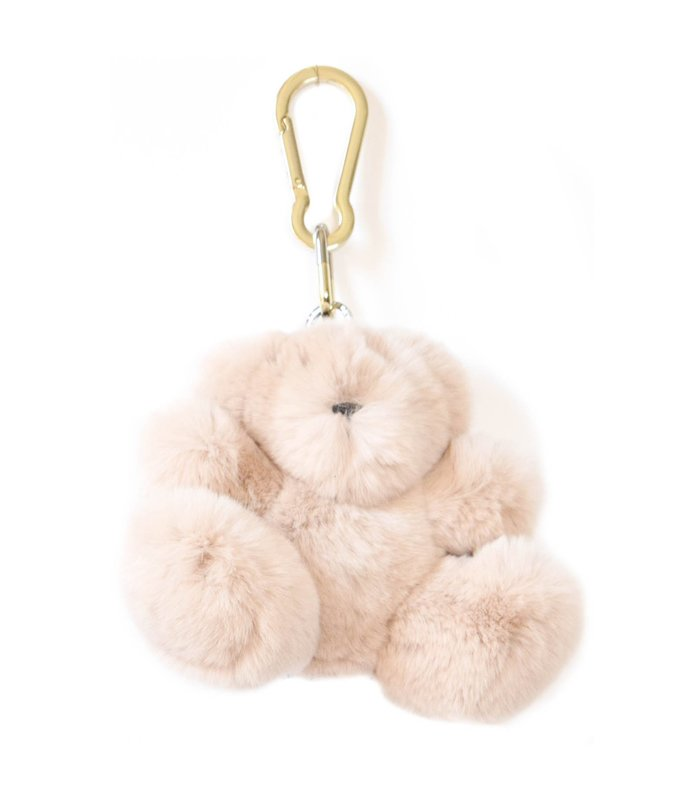 rabbit keyholder in pink